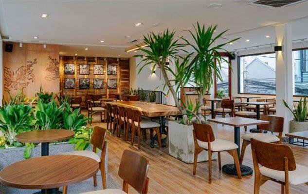 Trang trí quán cafe theo Phong cách quán cafe hiện đại: The Coffee House