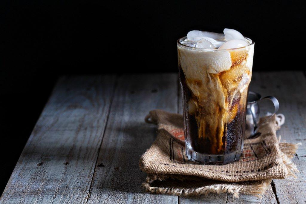Cafe sữa đá kiểu Drip Coffee