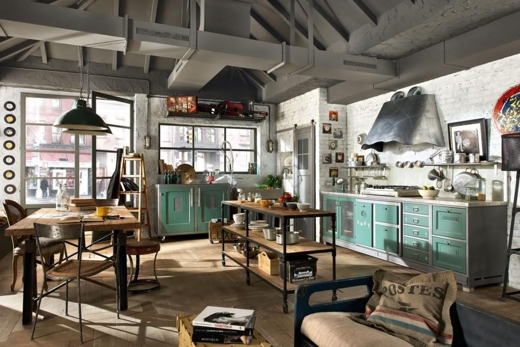 Các mẫu ghế cafe phong cách công nghiệp