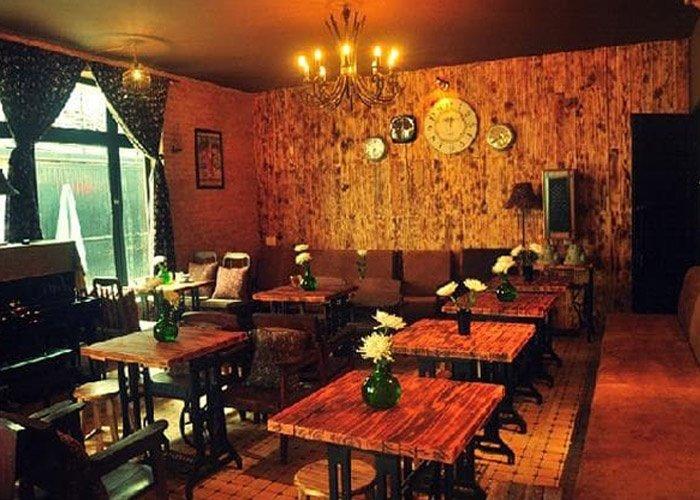 phong cách trang trí quán cafe tân cổ điển