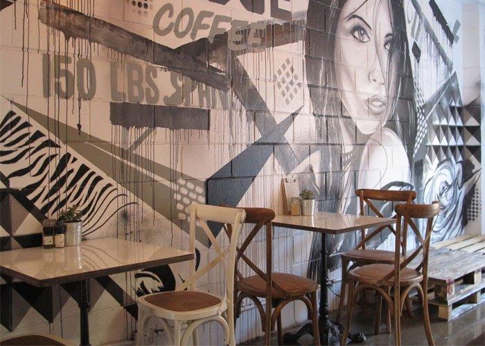 Thiết kế quán cafe cá tính, độc đáo