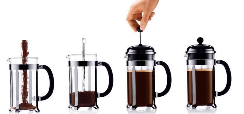 Cà phê lọc ép - Cà phê kiểu Pháp